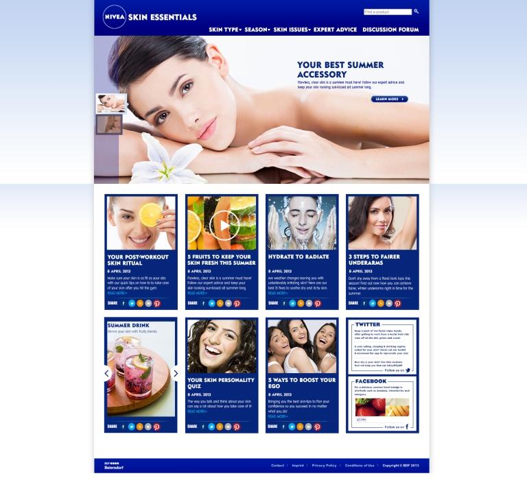 NIVEA_skin essentialsHomePage